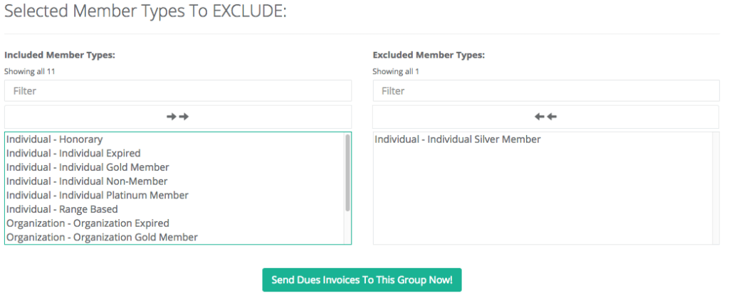 How to send a dues invoice to members - Associations Online