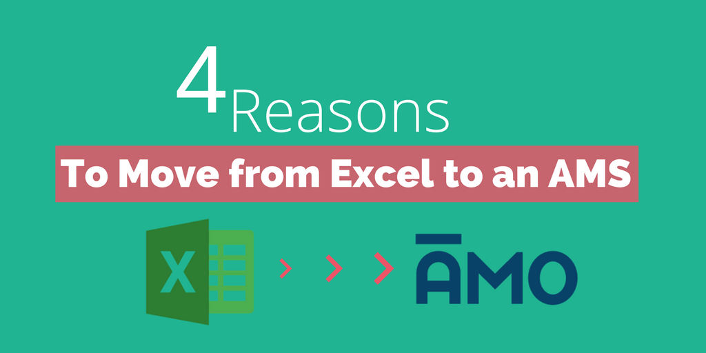 4 Reasons You Need to Move Member Data from Excel to an Association Management System