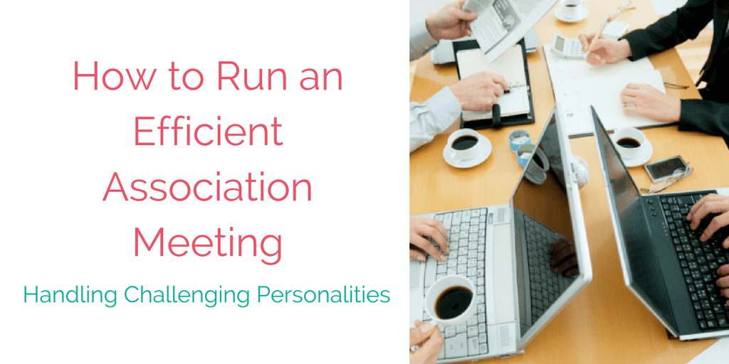 How To Run An Efficient Association Meeting