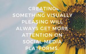 Create something visually pleasing