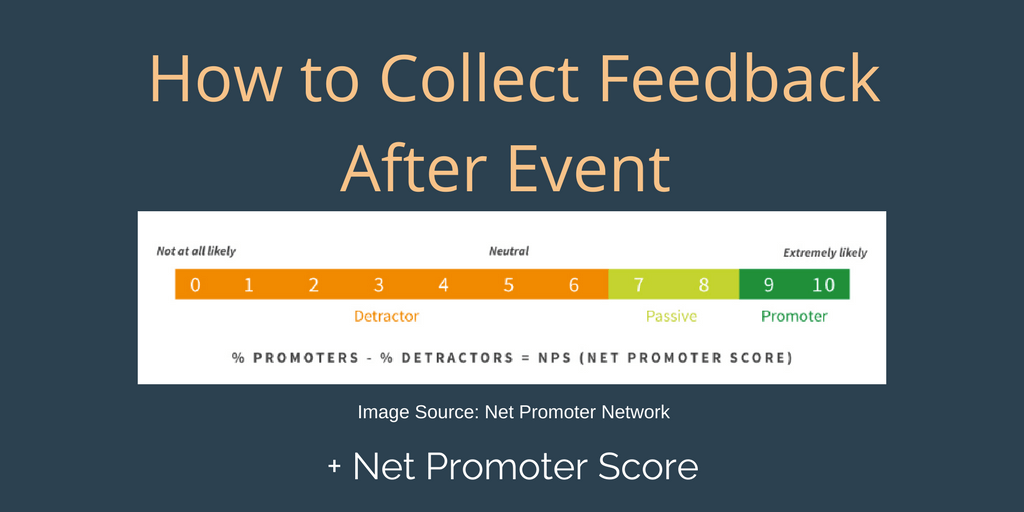 How to Collect Feedback After an Event and Why (+ Net Promoters Score)