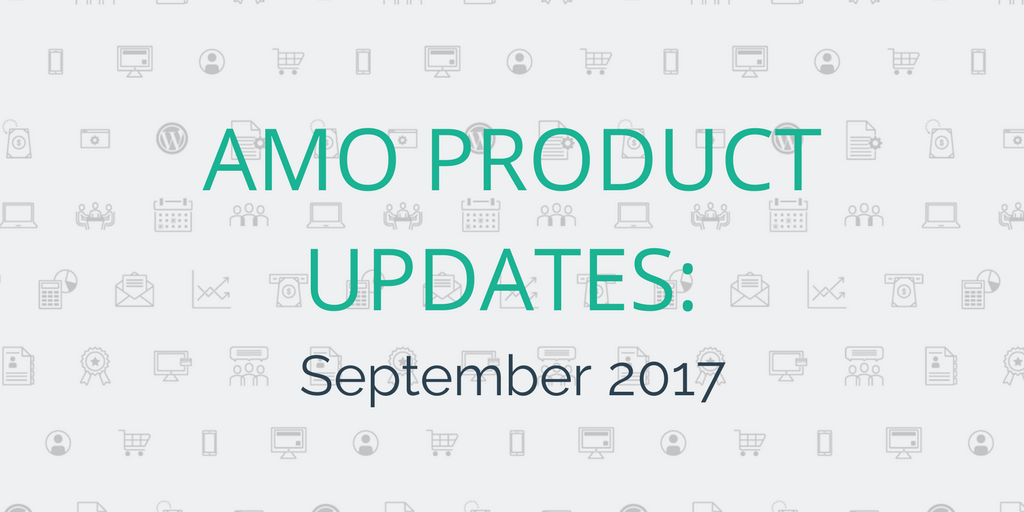 AMO Fall 2017 Product Updates – Plug-Ins, Mobile App, Event Refunds and more!