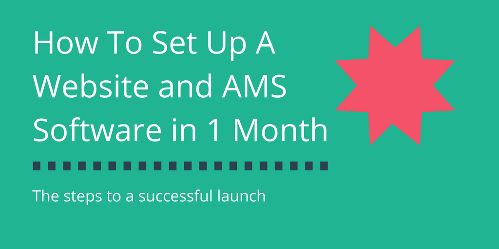 How to set up an association website in a month for less than 3 dollars a day