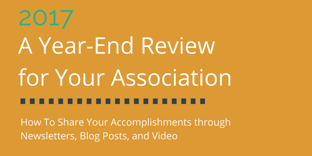 End of Year Review – How to Share Your Accomplishments and Excite for Next Year