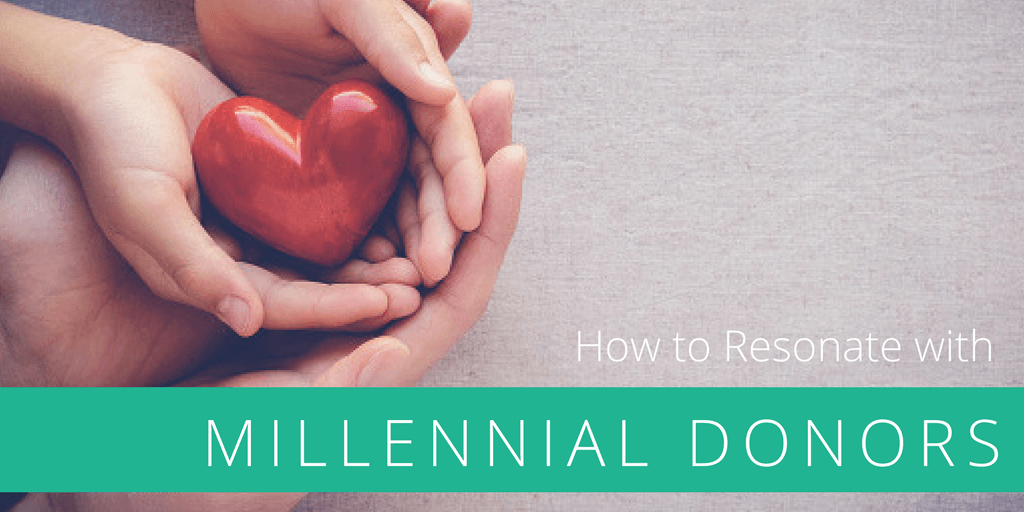 How to resonate with your millennial donors and why it's important